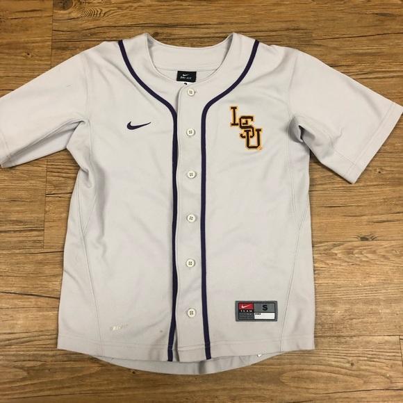 the latest 18ebb b9e75 Nike LSU Baseball Jersey